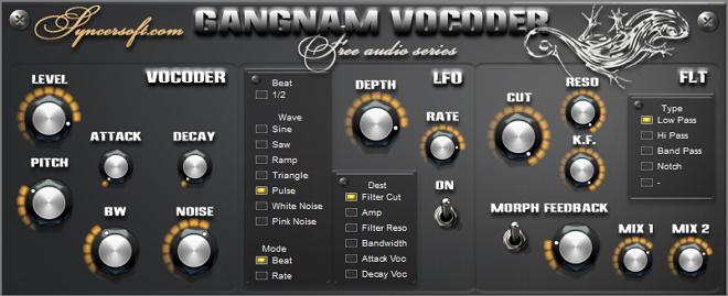 Click to view Gangnam Vocoder 1.0 screenshot